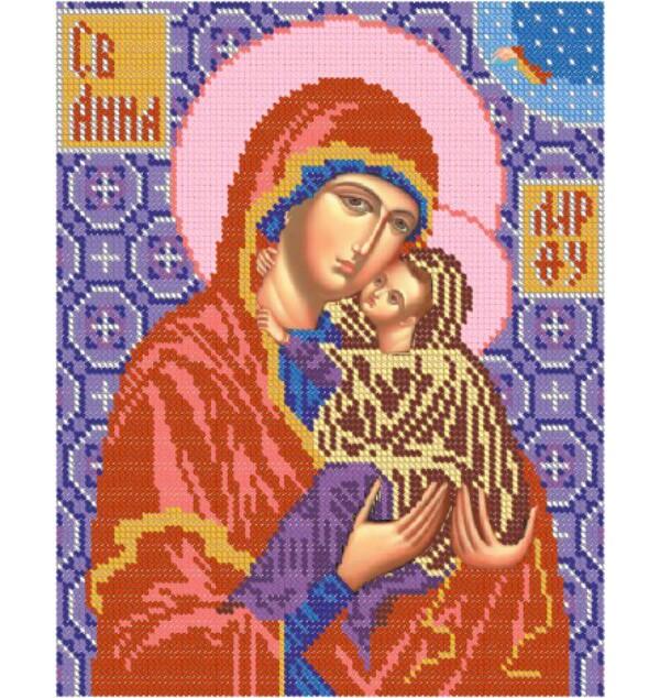 Икона святой анны схема вышивки