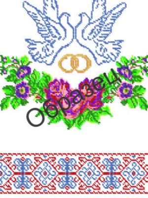 Украинские рушники схемы